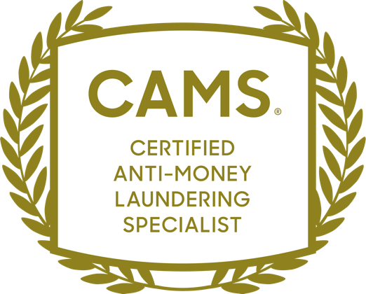 CAMS Certification Badge