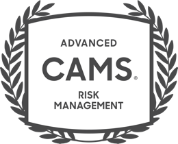 Advanced CAMS Risk Management badge