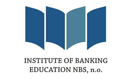 The Institute of Banking Education of the National Bank of Slovakia Logo