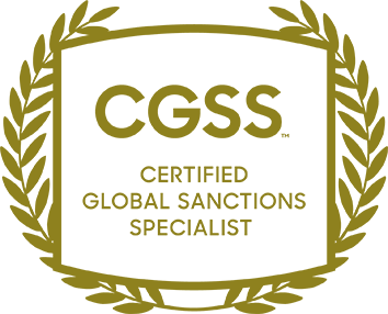 CGSS - CERTIFIED GLOBAL SAMCTIONS SPECIALISTS
