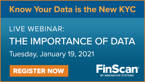 Know Your Data is the New KYC - FinScan Webinar