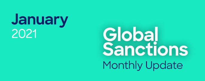 January Global Sanctions Update